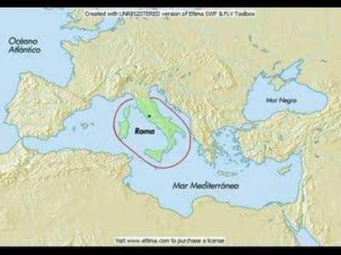 Breve Descripcion En Un Mapa Dinamico De La Expansion Geografica