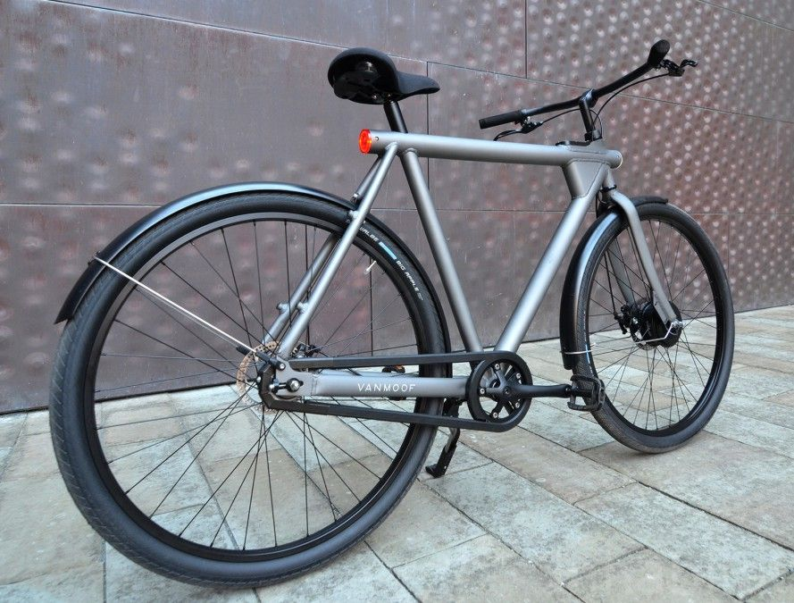 The Vanmoof Electrified Is A Smart Stylish And Stealthy Electric Dream Bike Bicicletta