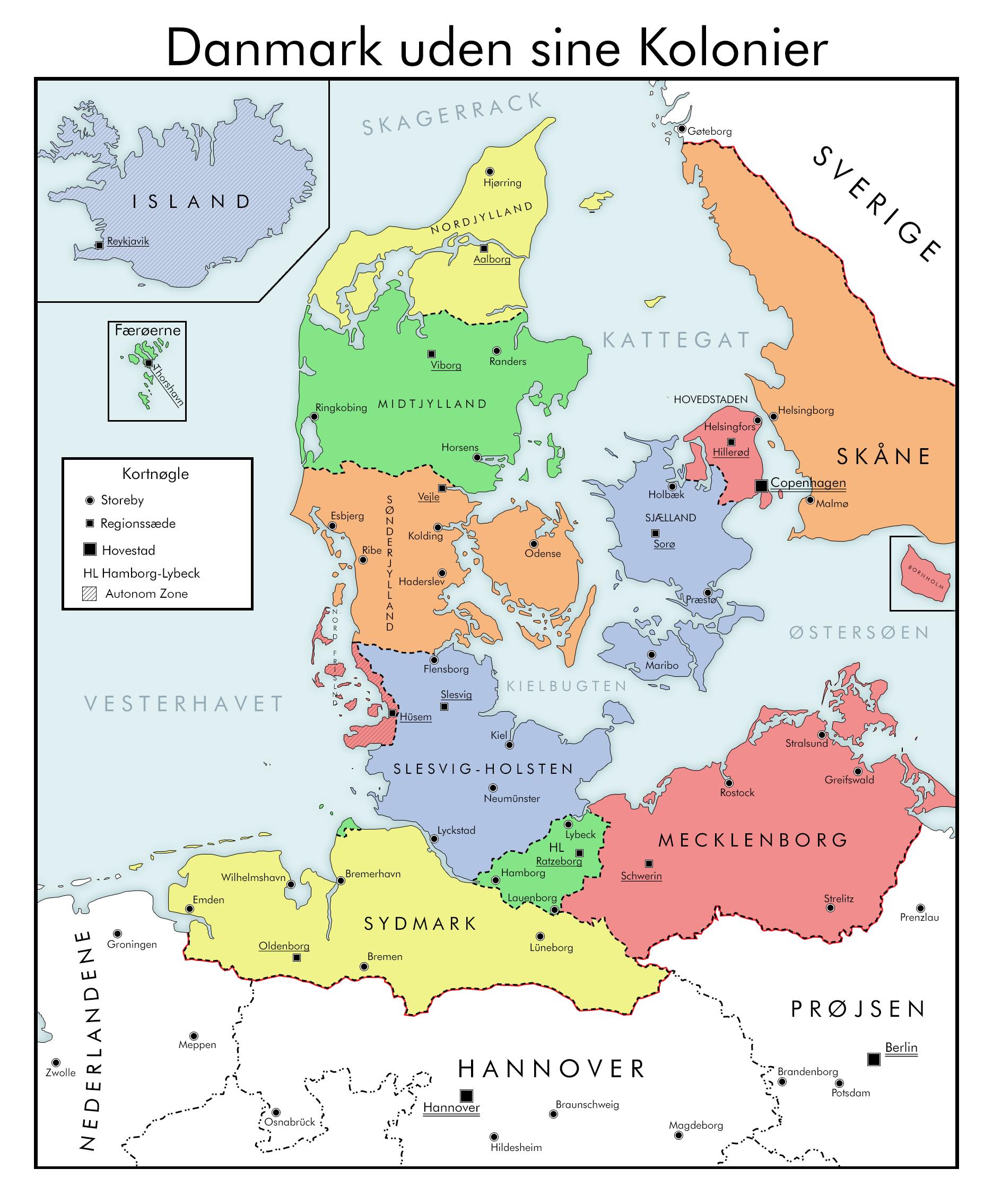 Greater Denmark By Wewlad11 On Deviantart In 2020 Denmark Map Denmark Historical Maps