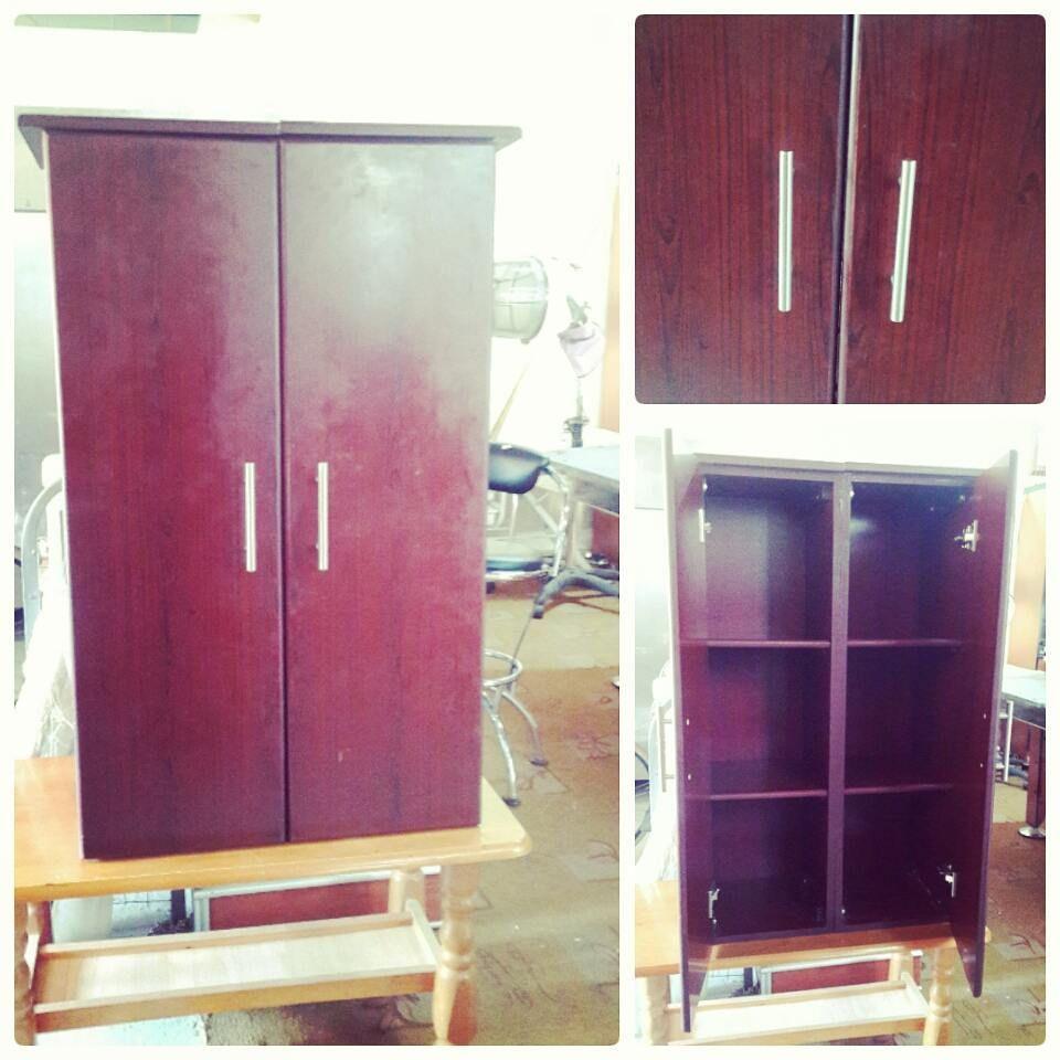 For Sale Cabinet Two Door 14 Bd للبيع خزانة من بابين خشب السعر 14 Bd Tel 33770050 Armoire Home Decor Furniture