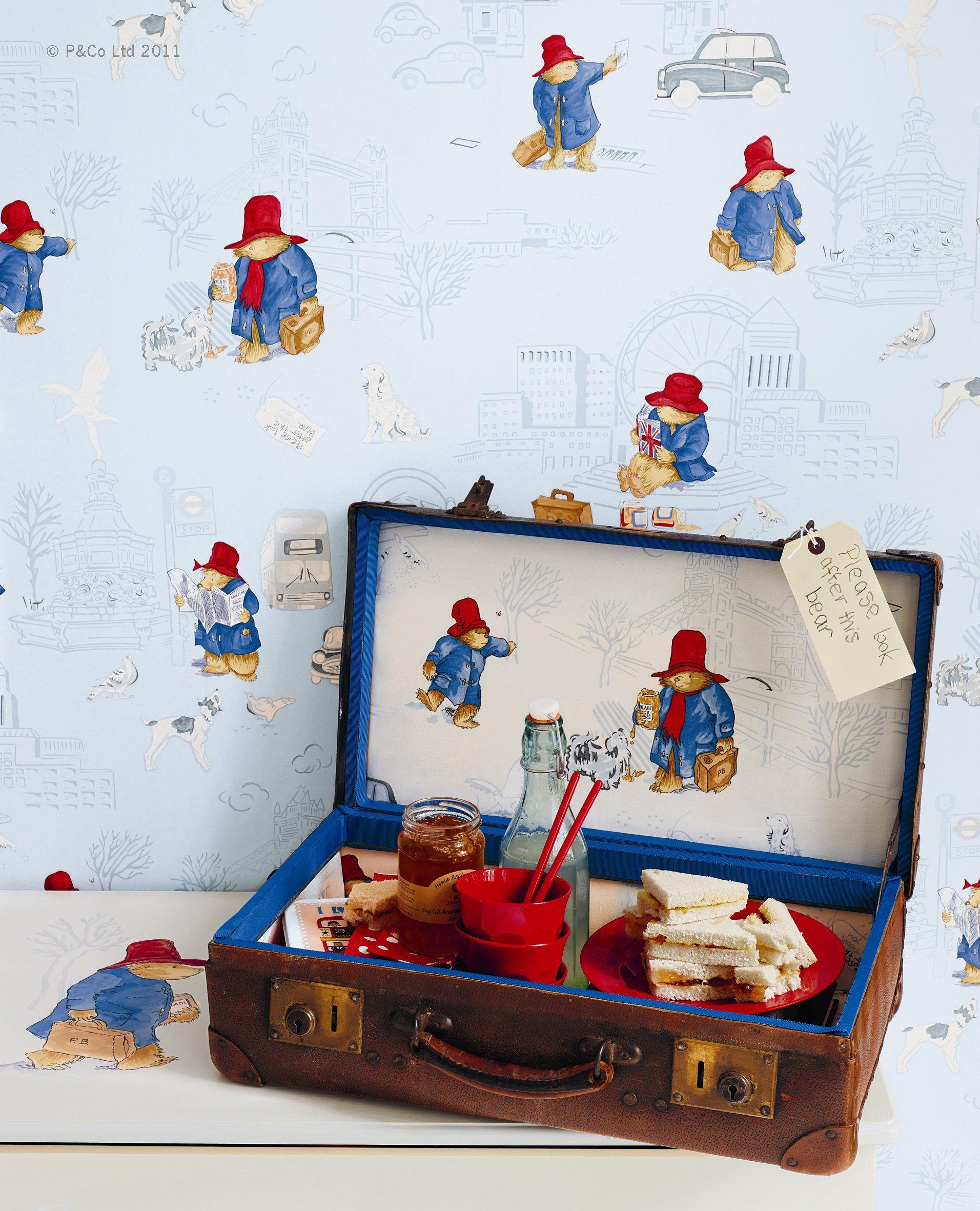 London Paddington Fabric And Wallpaper By Jane Churchill Nursery