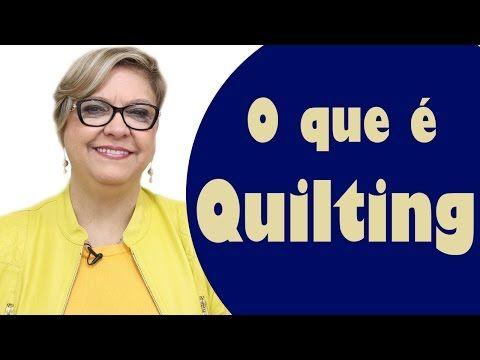O que é Quilting?   Ana Cosentino   Patchwork Sem Segredos
