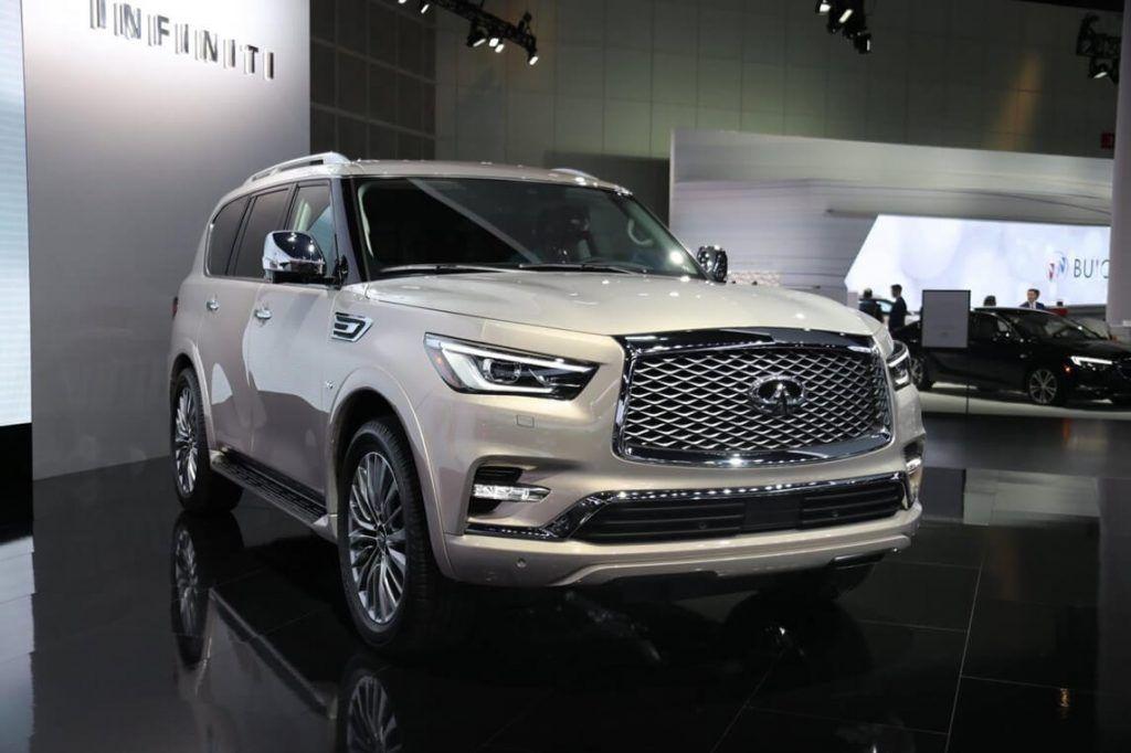 2020 Infiniti Qx80 Suv Rumors And Price In 2020 Large Suv Suv Infiniti