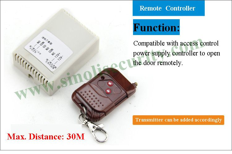 30M Short Distance Access Control Remote Control Switch, 12V Wireless Remote Door  Relase Button