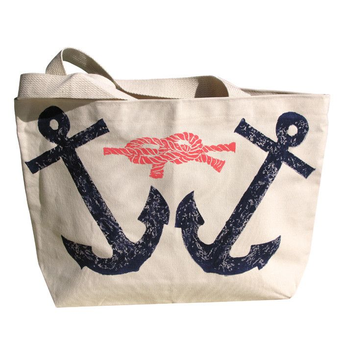 Twin Anchors Tote
