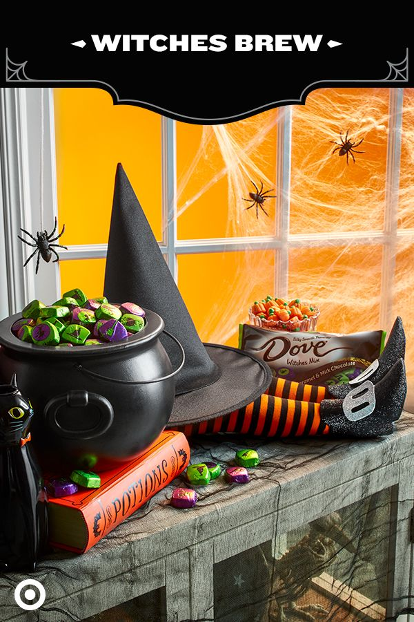 Looking for a new way to serve up tasty treats? Fill up a caldron