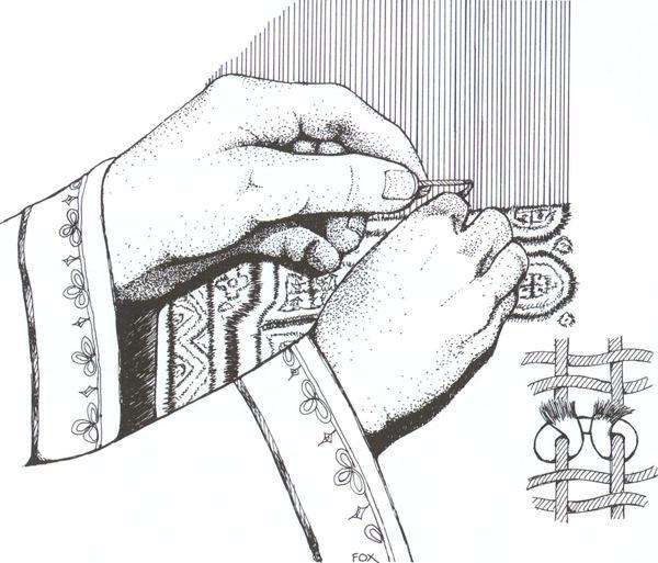 Oriental Rug Knots Book