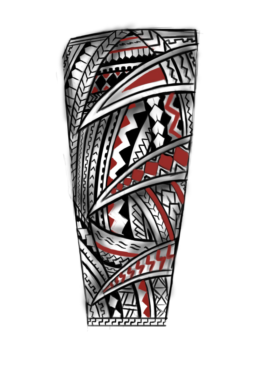 Forearm Samoan Tattoo Polynesiantattoosforearm Band Samoan