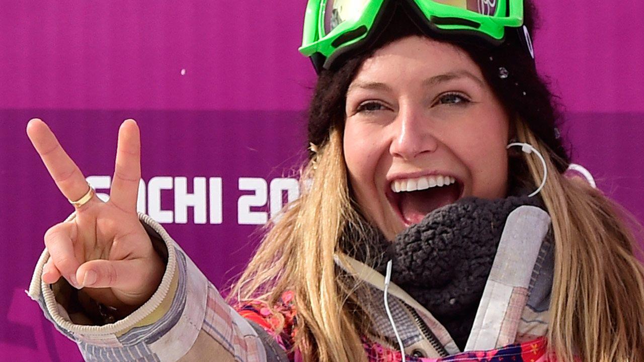 U.S. sweeps slopestyle golds. Jamie Anderson, slopestyle ...