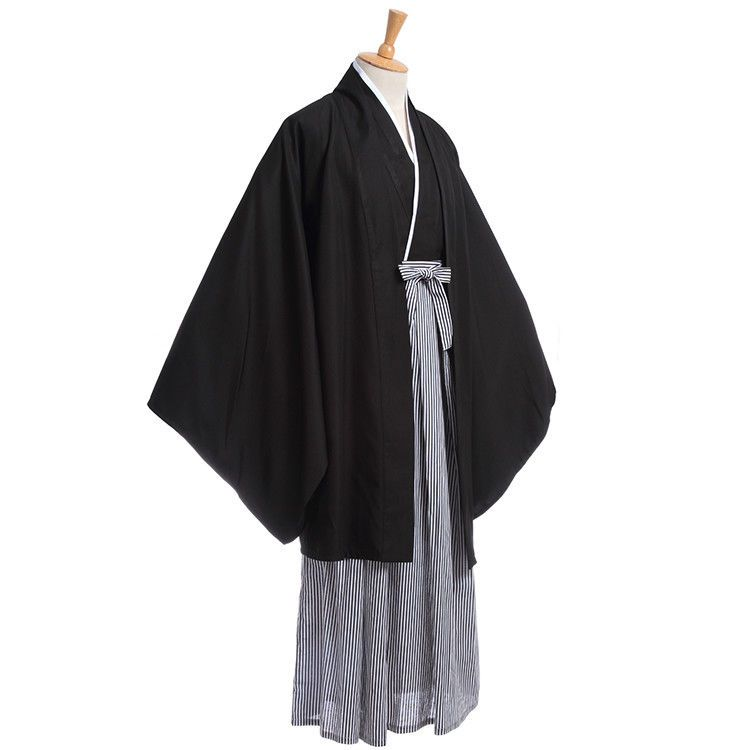Japanese Men Vintage Haori Kimono Fashion Casual Robe Yukata Cosplay Costume
