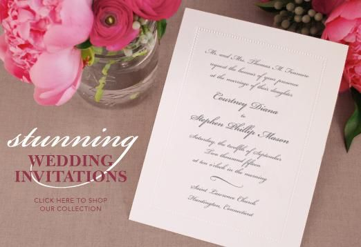 Best Wedding Invitations Ever: William Arthur - Wedding Invitations