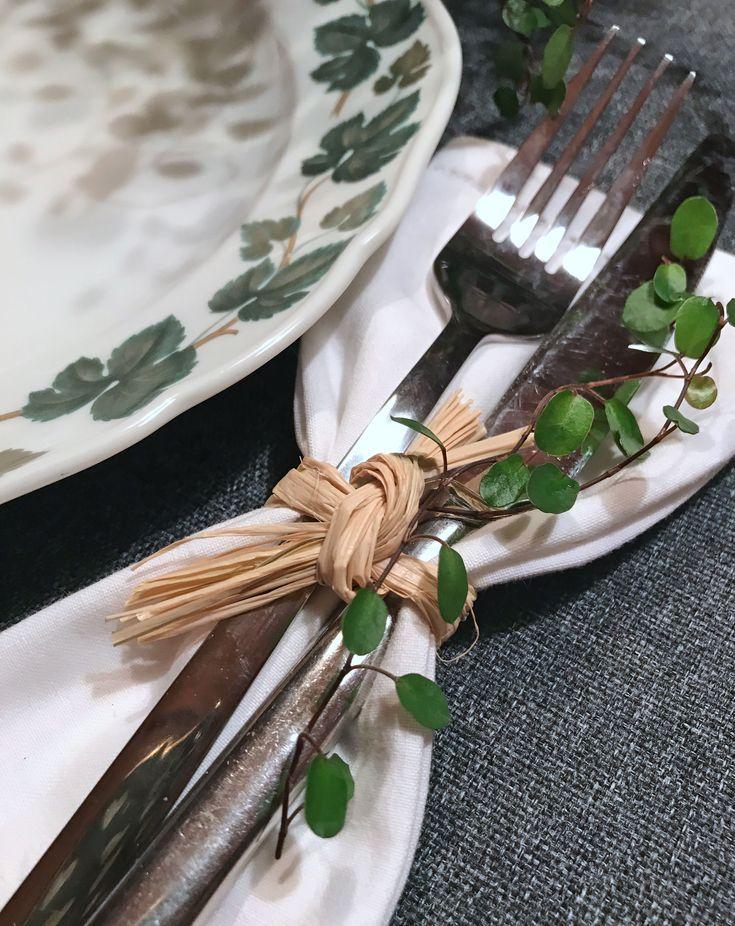 Schnelle und einfache Tischdeko #tischdekoherbstesstisch