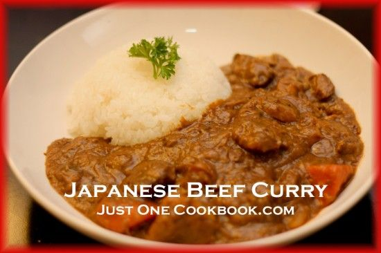 Recipes Just One Cookbook Recipe Beef Curry Japanese Beef Beef Curry Recipe