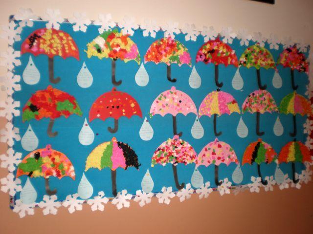 Exceptional Umbrella Craft Ideas For Kids Part - 4: Umbrella Craft Idea For Kids