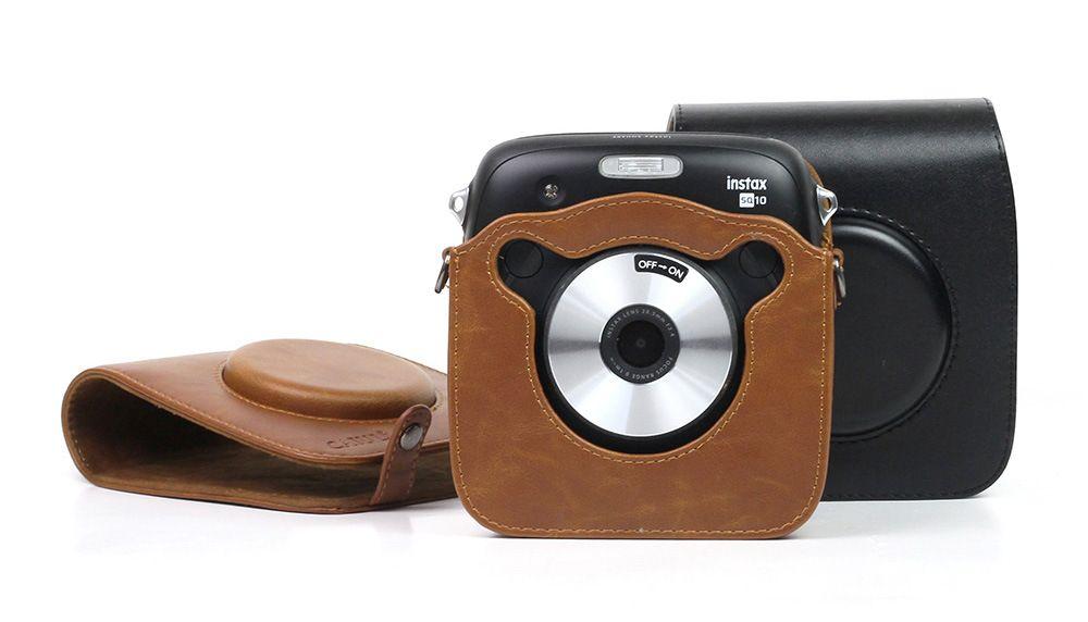 Brown PU Leather Camera Case for  Fujifilm Fuji X70 Digital Cameras