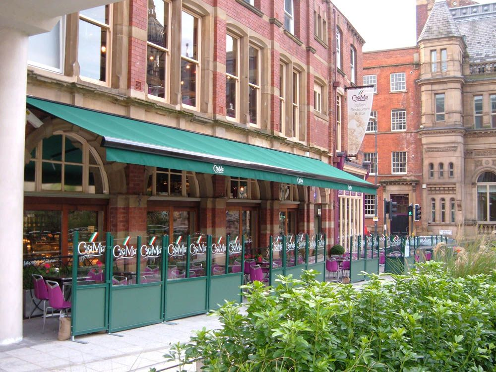 Outdoor Shading Terrace Covers by Aspiration Blinds