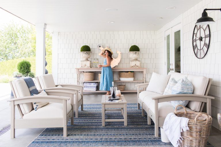 How to Design a Timeless & Low Maintenance Outdoor Space
