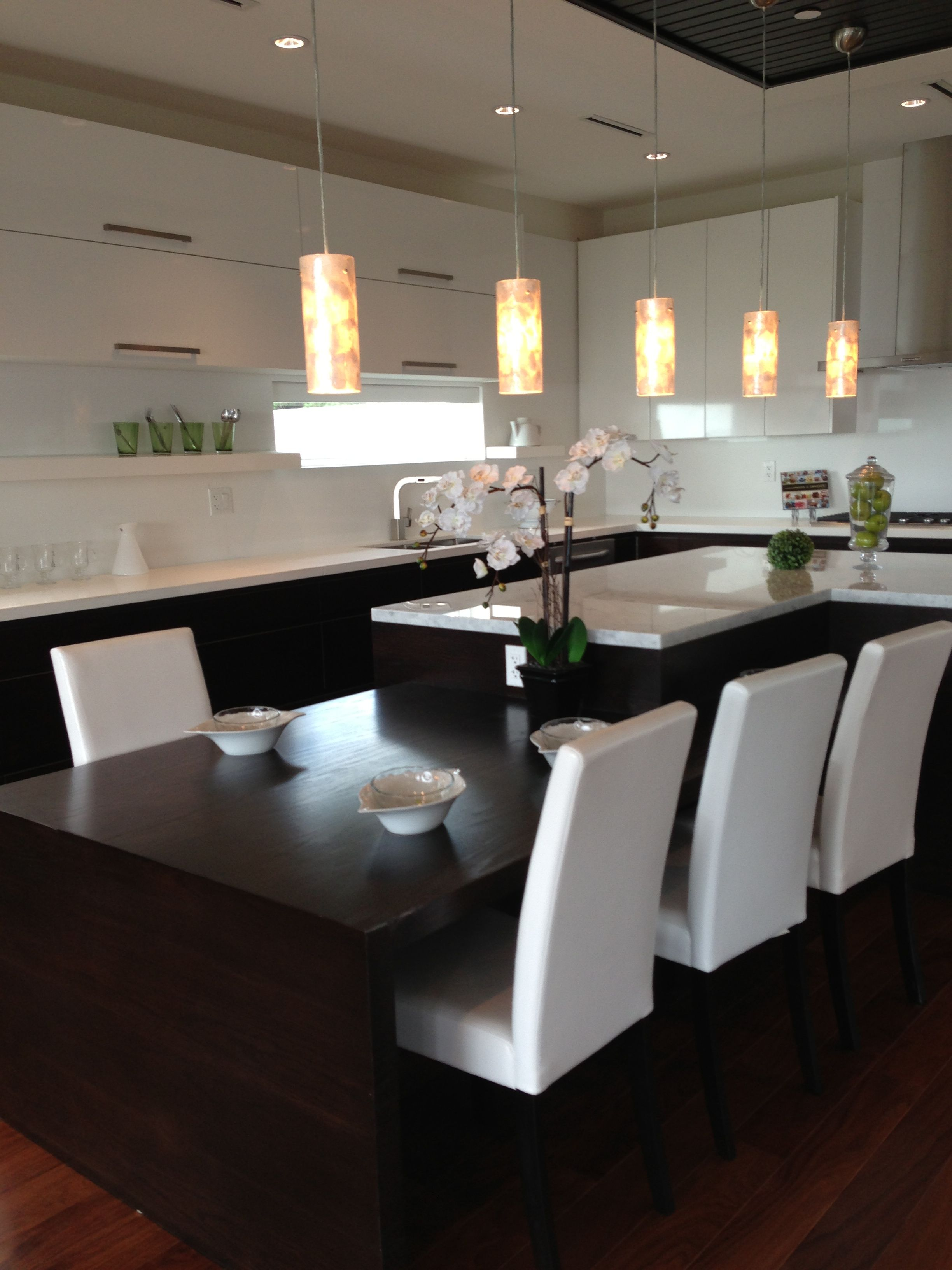 Pin By Heather Haveman On My Dream Home Ideas Kitchen Island Dining Table Kitchen Island Table Kitchen Island Table Combination