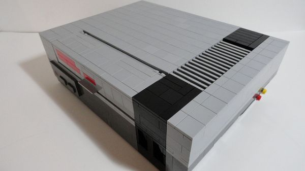 LEGO Nintendo Entertainment System - Neatorama