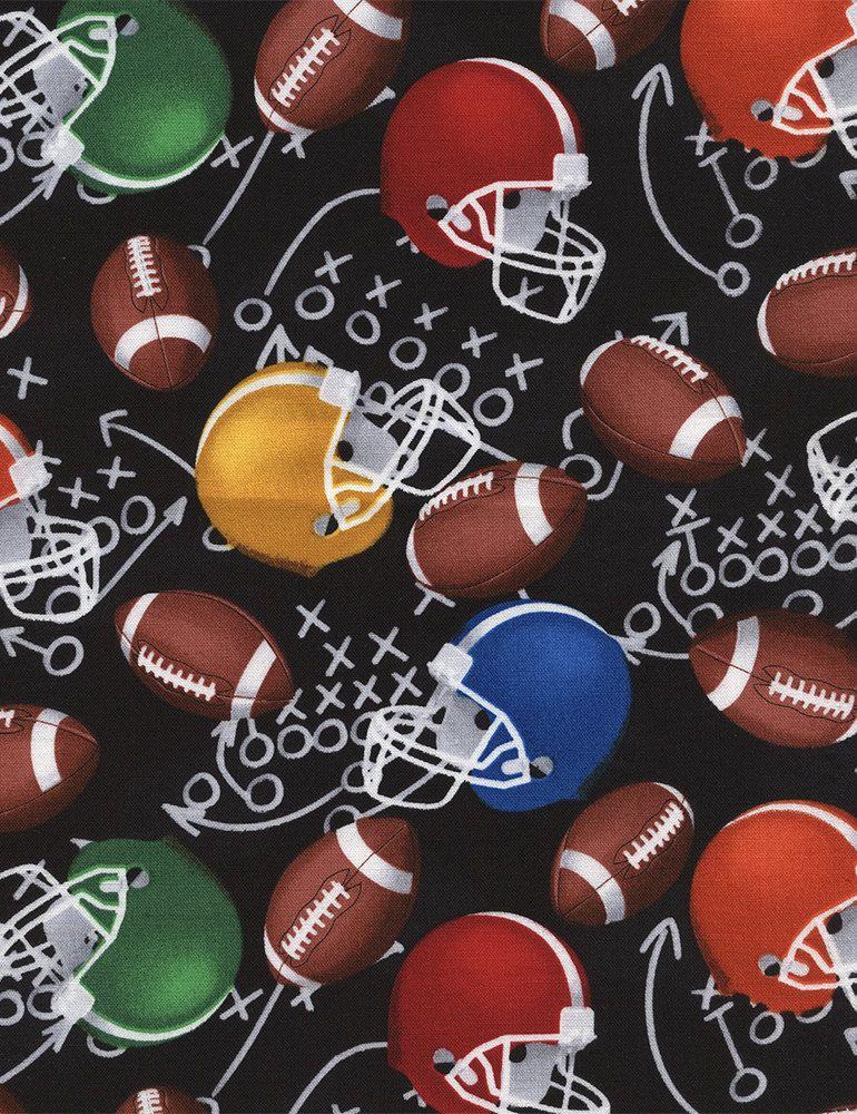 Football Fabrics Football Yardage Football Fabric By The Yard