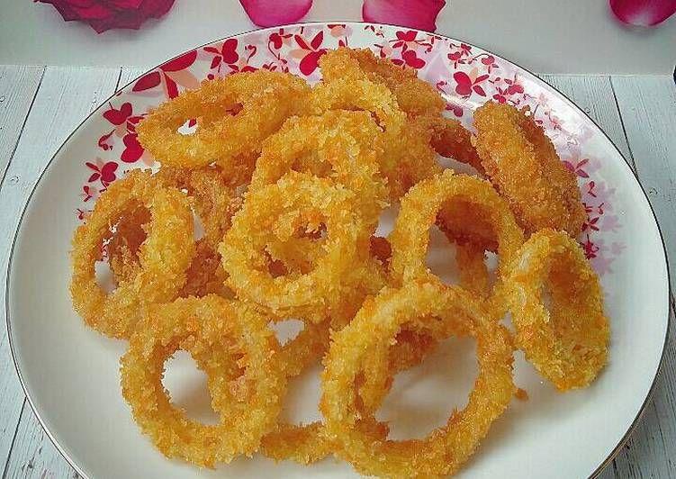 Resep Onion Rings Oleh Susan Mellyani Resep Cemilan Masakan Resep