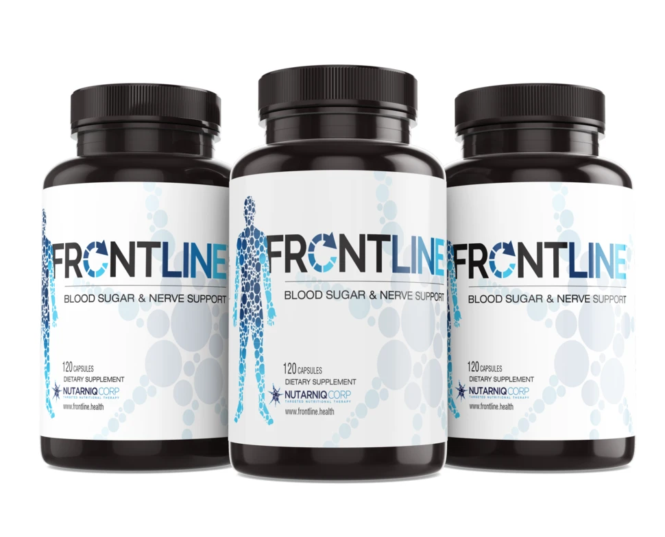 Pin on Frontline Blood Sugar & Nerve Support
