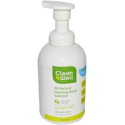 Cleanwell Hand Sanitizer Foam 1x8 Oz Products Hand Sanitizer