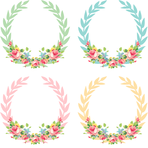 Vintage freebie pretty shabby wreaths home decor for for Couronne shabby chic