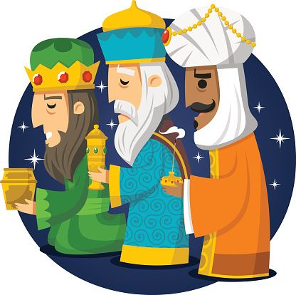 three wise men kings melchior gaspard balthazar trzej kr lowie rh pinterest co uk Three Wise Men Clip Art Black and White Three Wise Men Clip Art Black and White