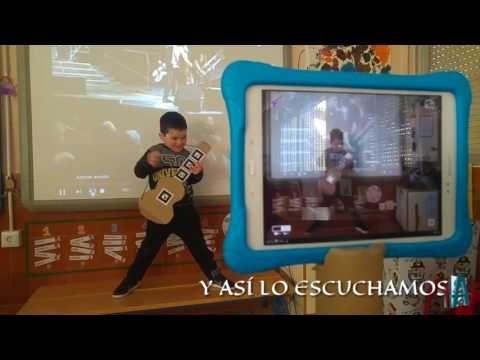 Proyecto AUMENTAR: EN EL AULA: aprendemos a tocar la guitarra con AR Music Kit