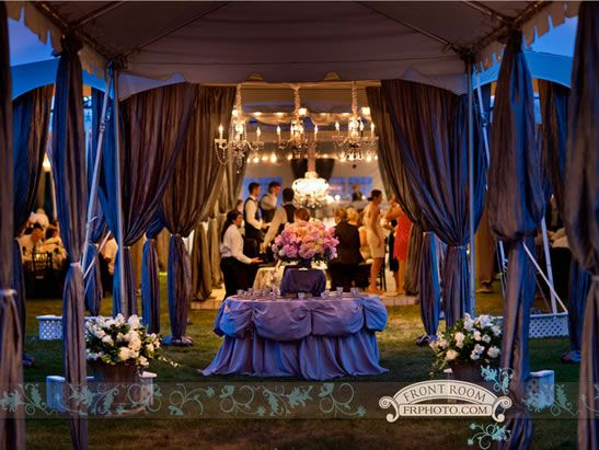 The entrance to a tented wedding at boerner botanical - Boerner botanical gardens wedding ...