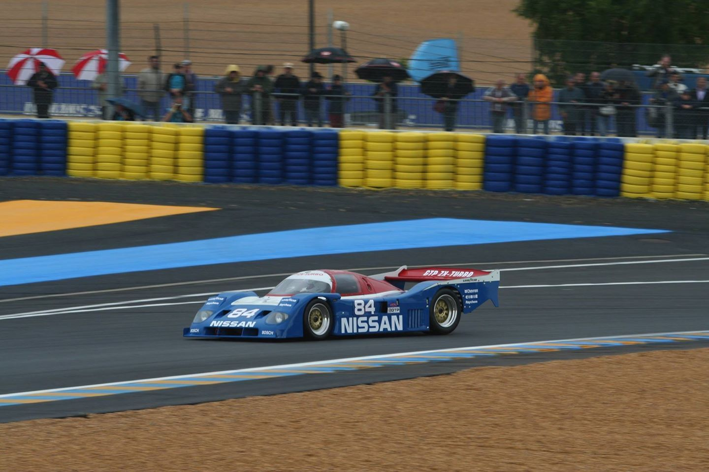 The 1990 Nissan NPT1 90 GTP Le Mans 2008. Group C Support