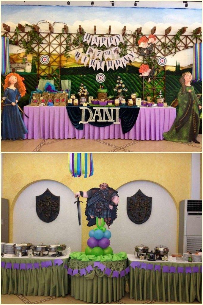 Disney Brave Party Decoration Ideas Braves party