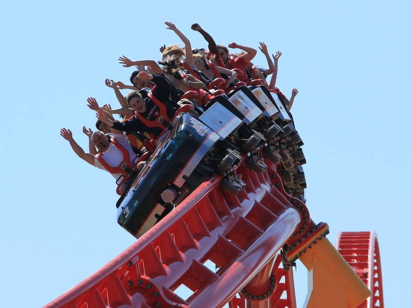 Intimidator 305 At King Dominion Roller Coaster Riding Dominion