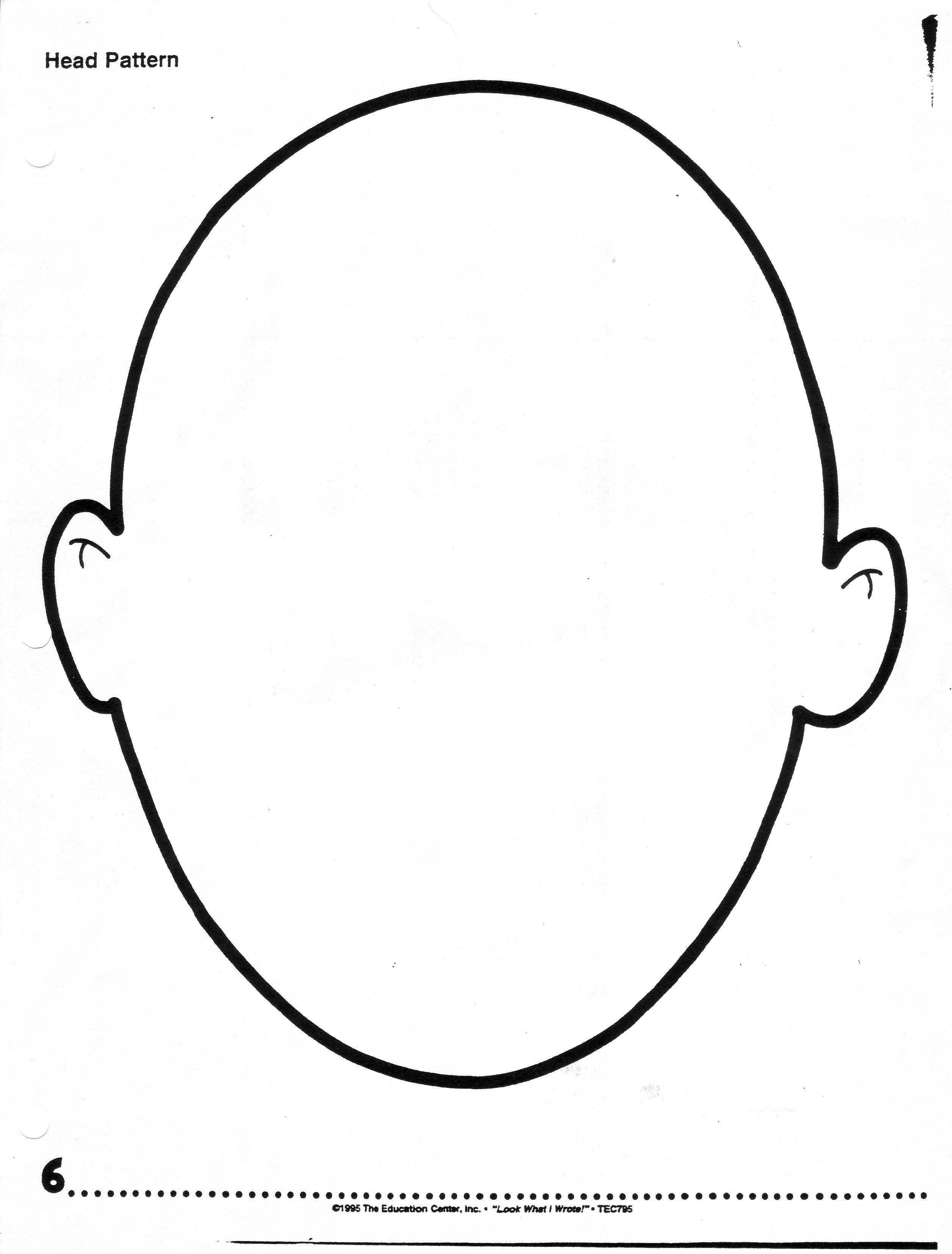 Alfa Img Showing Female Blank Head Outline School With Blank Face Template Preschool Cumed Org Face Template Face Outline Drawing For Kids [ 3308 x 2512 Pixel ]