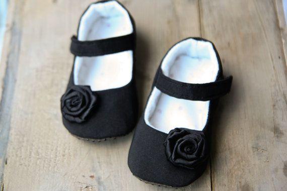 Black baby girl shoes black classy