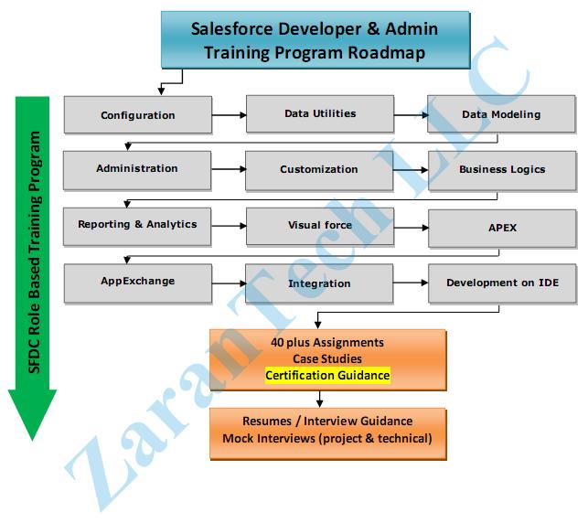 Salesforce Training Roadmap Salesforce Training Pinterest - Training roadmap template