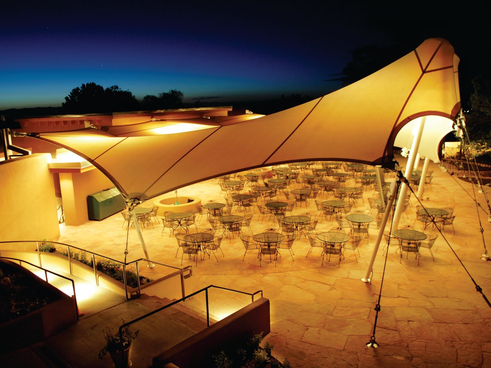 Fabritec structures the leaders in tension tensile membrane and fabric structure architecture