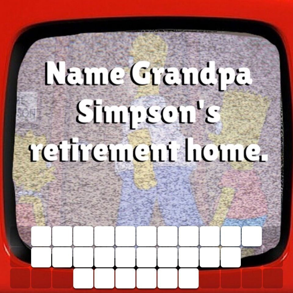 Click to play TV trivia! simpsons Tv trivia, Online