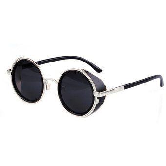 8c2d30bc69 Compra Gafas De Sol Yucheer Con Cristales Redondos Unisex-Negro online ✓  Encuentra los mejores productos Lentes de sol Redondos mujer Yucheer en  Linio ...