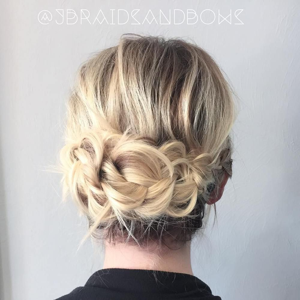 updos for thin hair that score maximum style point updo