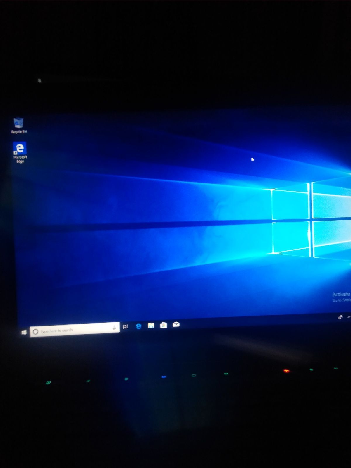 This laptop is good from the inside, it has windows 10 and