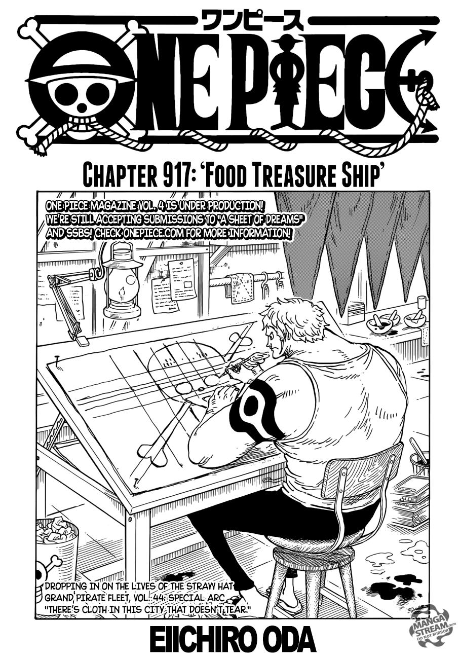 Baca Komik One Piece 909 : komik, piece, Piece, Chapter, Review:, Treasure, Chapter,, Manga,