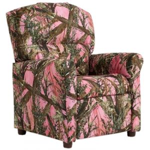 Magnolia Furniture Kids Recliner Pink Blaze Camo By Magnolia