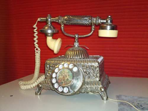 a29bc252b Telefono Antiguo Vintage 750 Teléfonos Antiguos, Relojes Antiguos,  Aparatos, Mercado Libre, Brillante