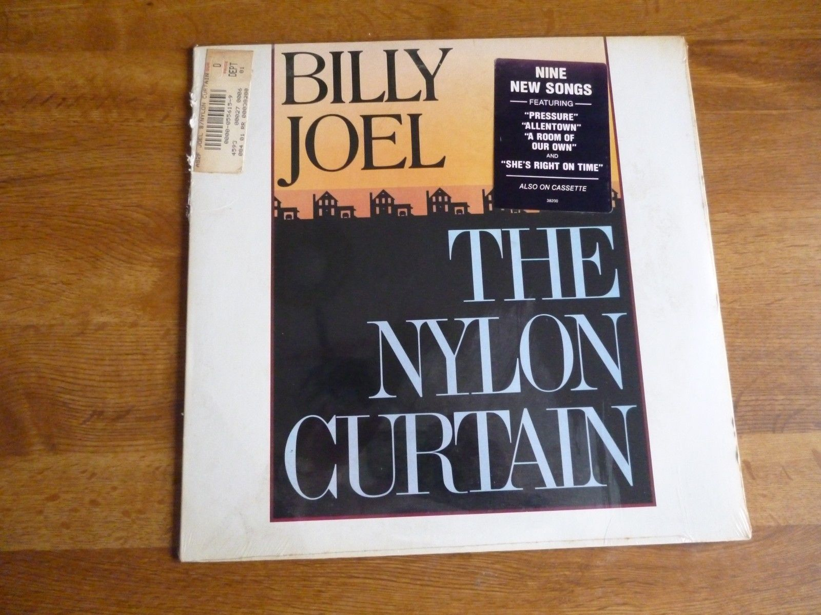 Billy Joel - The Nylon Curtain LP - Columbia Records QC 38200 - still sealed https://t.co/6EkKMgfSv9 https://t.co/sWEqAN9mWq