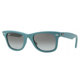 73f748bf7bf Ray Ban RB2140 Original Wayfarer Color Mix sunglasses – Light Blue Frame    Grey Gradient Lens