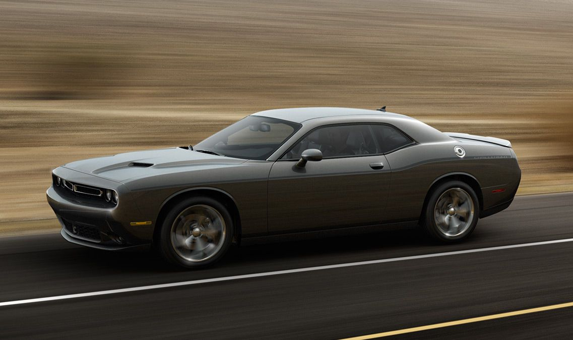 Dodge Challenger Srt8 2014 Side View 0425