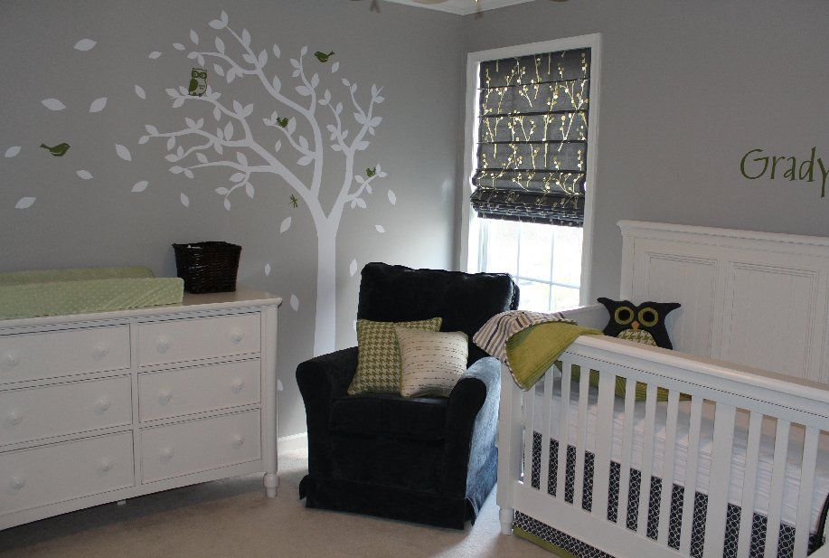 Grey White And Yellow Color Theme For Baby 39 S Room Baby