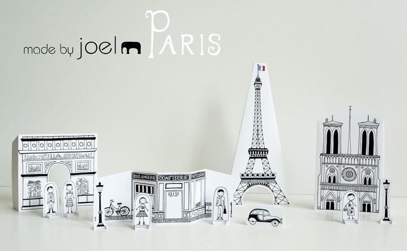 DIY : Découper Paris en rondelles (ou pas) Kids DIY - visit of Paris